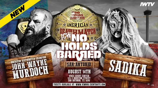 ICW No Holds Barred Volume 17
