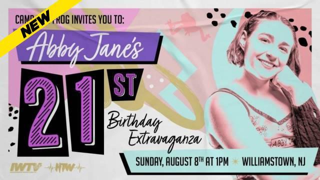 Camp Leapfrog - Abby Jane's 21st Birthday Extravaganza