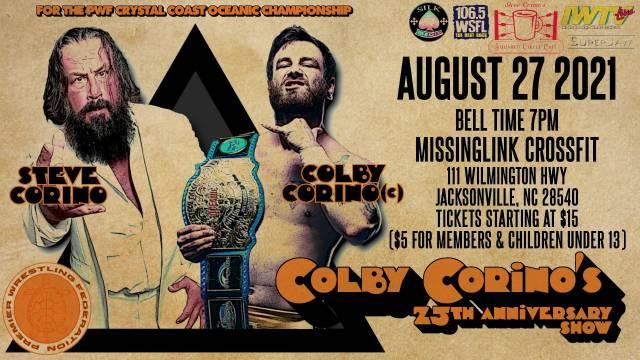 PWF - Colby Corino's 25th Anniversary Show