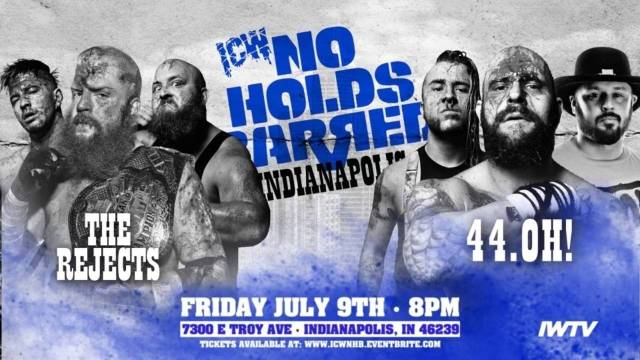ICW No Holds Barred Volume 15
