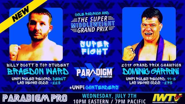 Paradigm Pro - UWFI Rules Super Middleweight Grand Prix Final