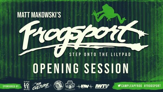 Camp Leapfrog - Matt Makowski's Frogsport Opening Session