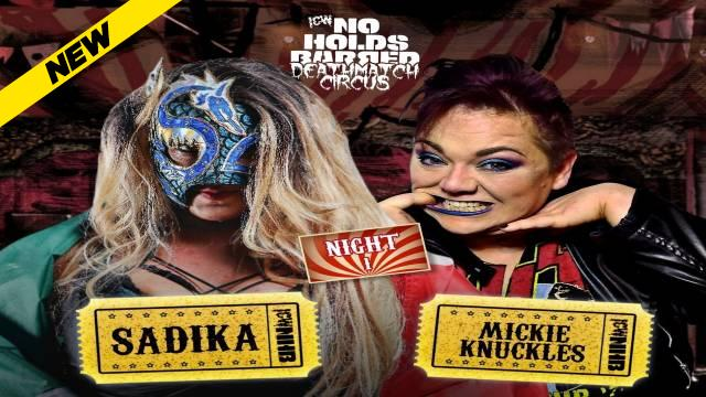 ICW No Holds Barred Volume 18: Deathmatch Circus