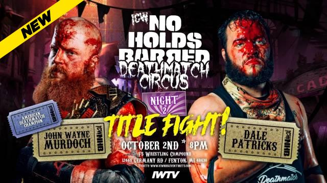 ICW No Holds Barred - The Pit 5