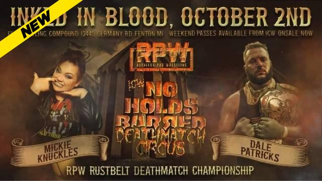 Ruthless Pro Wrestling - Inked In Blood