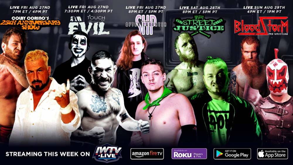 This Weekend On IWTV: Five Events Stream Live!