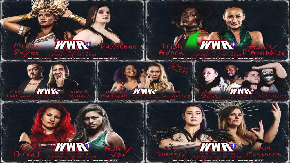 This Sunday live on IWTV: WWR+ Pain For Pleasure!