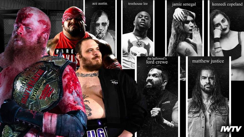 This Weekend on IWTV - ICW Pitfigter X9, NHB14 & No Peace Underground