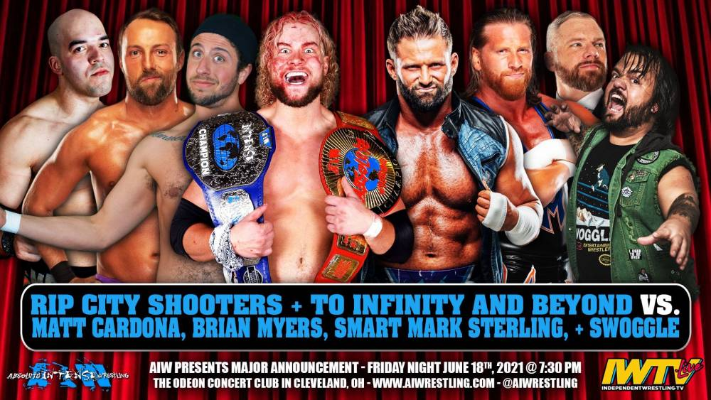 This Friday: AIW's Major Announcement streams live
