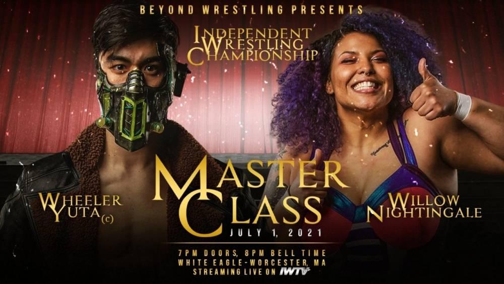 Thursday night on IWTV: Beyond Wrestling presents Masterclass