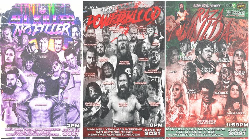 Saturday on IWTV: Heavy Metal Triple Header!