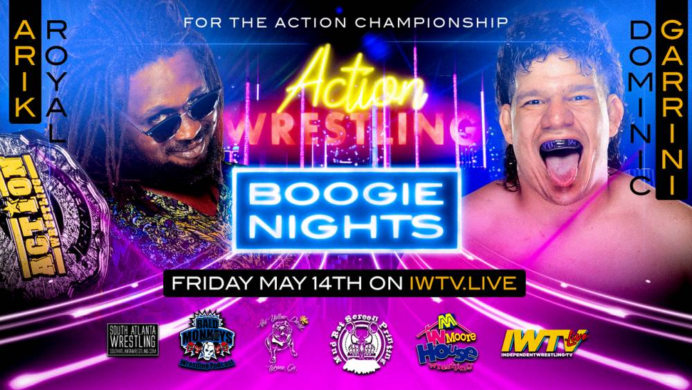 ACTION double header streams live Friday on IWTV