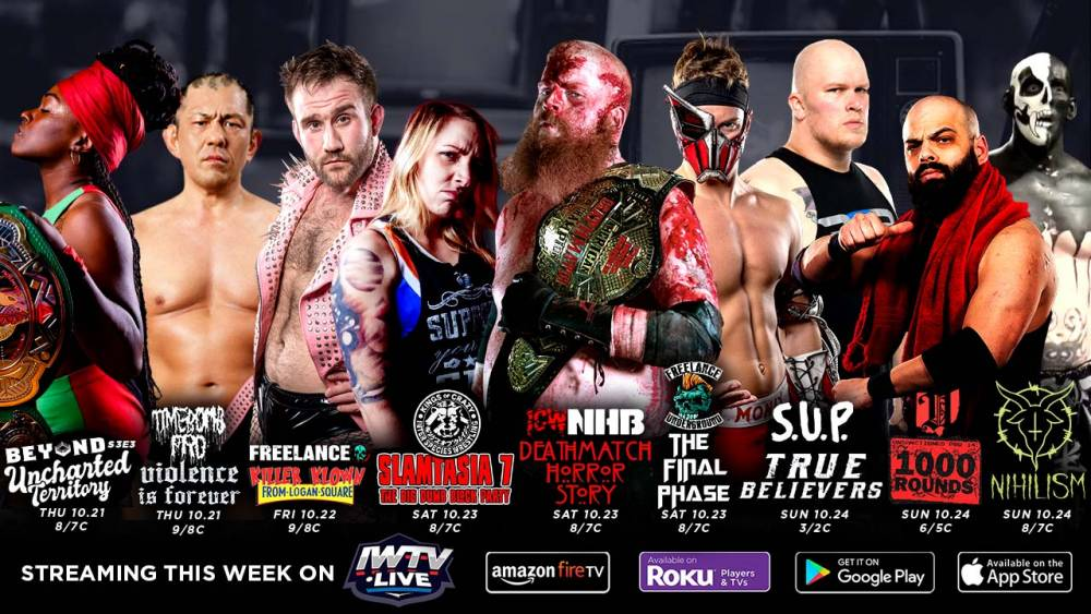 Nine events stream on IWTV this week
