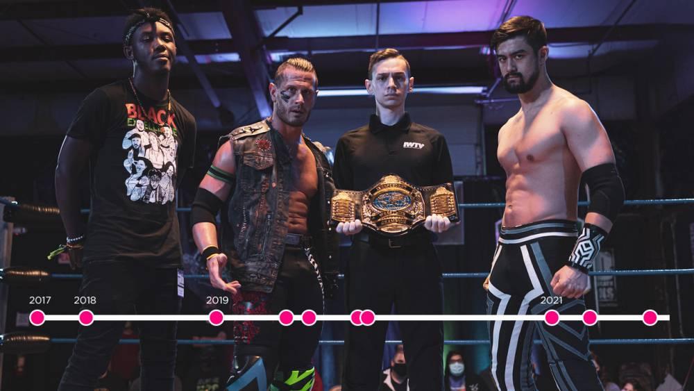IWTV Timeline: The Independent Wrestling Championship