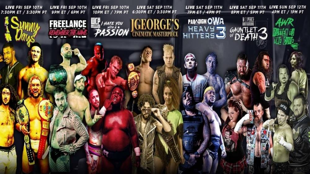 Match Guide: Seven events stream live on IWTV this weekend!