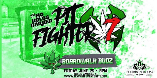 LIVE: ICW NHB Pitfighter X7