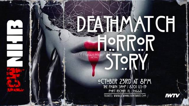=LIVE: ICW No Holds Barred Deathmatch Horror Story