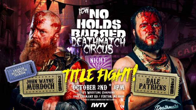 =LIVE: ICW No Holds Barred Deathmatch Circus Night 2