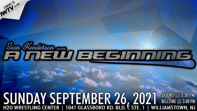 "=Sean Henderson presents ""A New Beginning"""