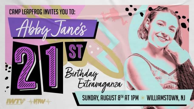 "=LIVE: Camp Leapfrog ""Abby Jane's 21st Birthday Extravaganza"""