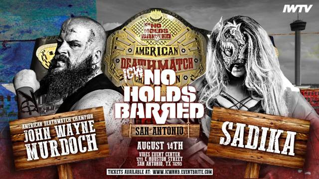 =LIVE: ICW NO Holds Barred Vol. 17