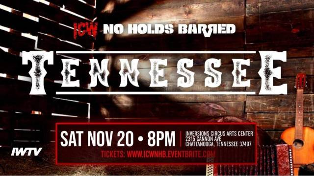 =LIVE: ICW NHB Tennessee